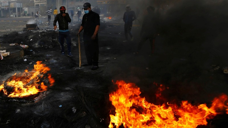Dozens of anti-government protesters killed across Iraq