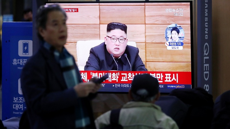 North Korea fires missiles in Thanksgiving 'message'