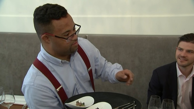 Brussels restaurant combines dining and Down Syndrome