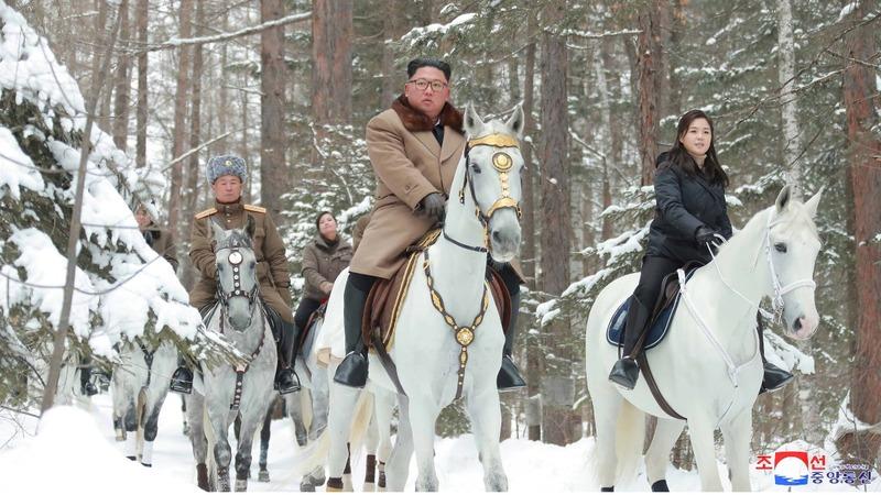 Kim Jong Un horse ride may signal confrontation