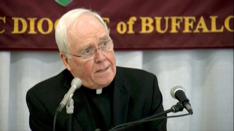 NY Bishop accused of abuse cover-up resigns