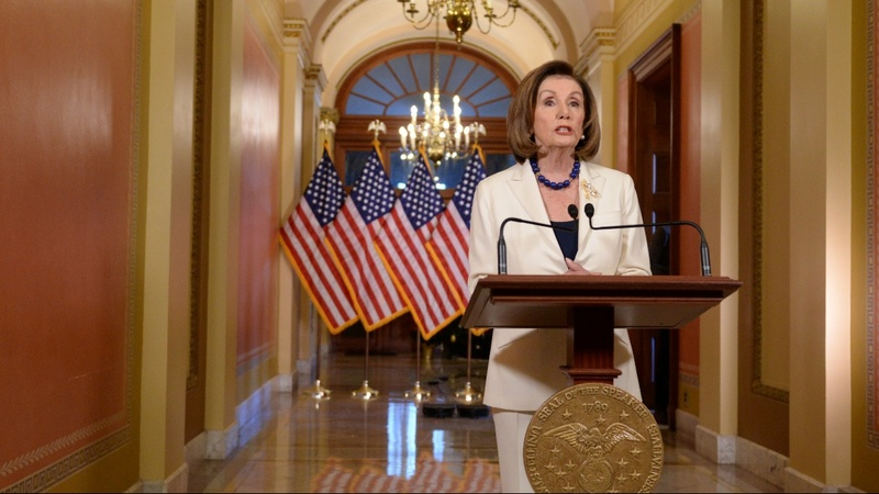 Pelosi calls for impeachment articles against Trump