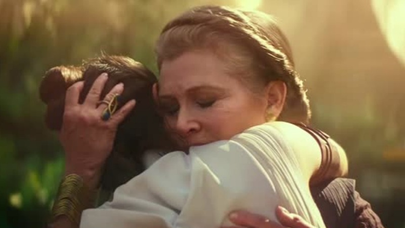 Carrie Fisher's 'miraculous' return to 'Star Wars'