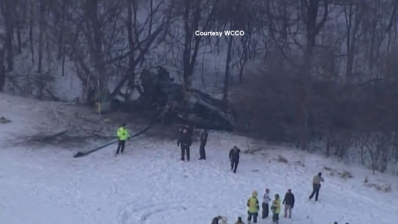Three soldiers dead in Minnesota helicopter crash
