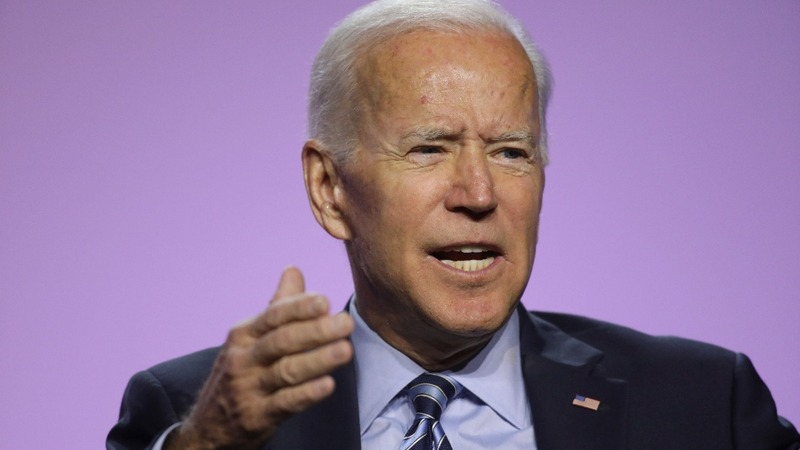 Biden: Trump has 'indicted himself'