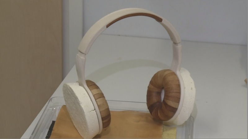 Fungus headphones designed to cut waste