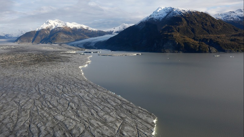 Record glacial melt in Alaska