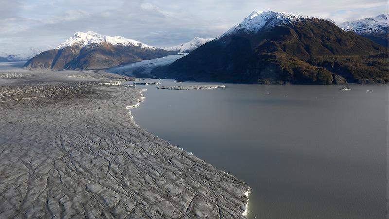 Record glacial melt in Alaska