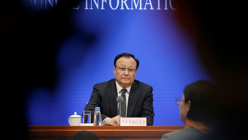 Chinese official blasts U.S. for Xinjiang bill