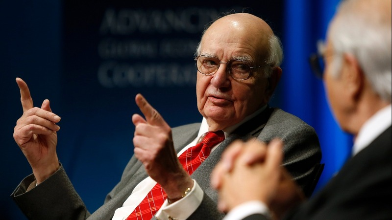 Former Fed Chief Paul Volcker, inflation tamer, dies