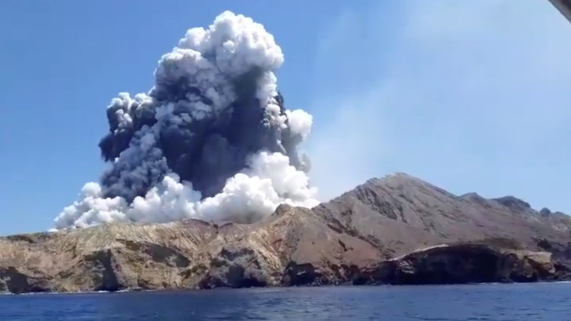 Several still missing after NZ volcanic eruption