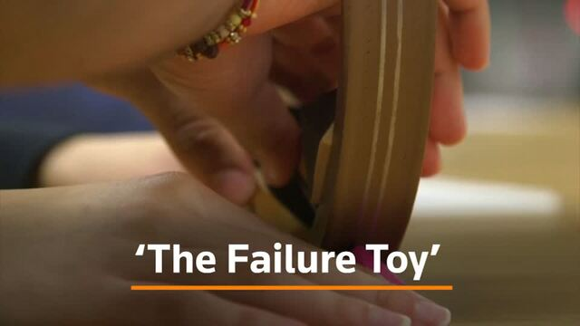 The toy teaching classrooms and boardrooms how to fail