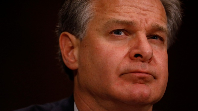 Trump blasts FBI Director Wray in wake of report