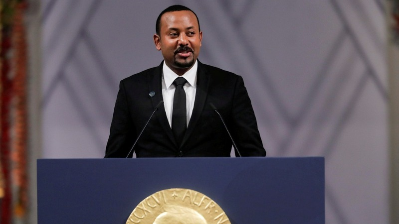 The Ethiopia PM's warning at Nobel Prize ceremony