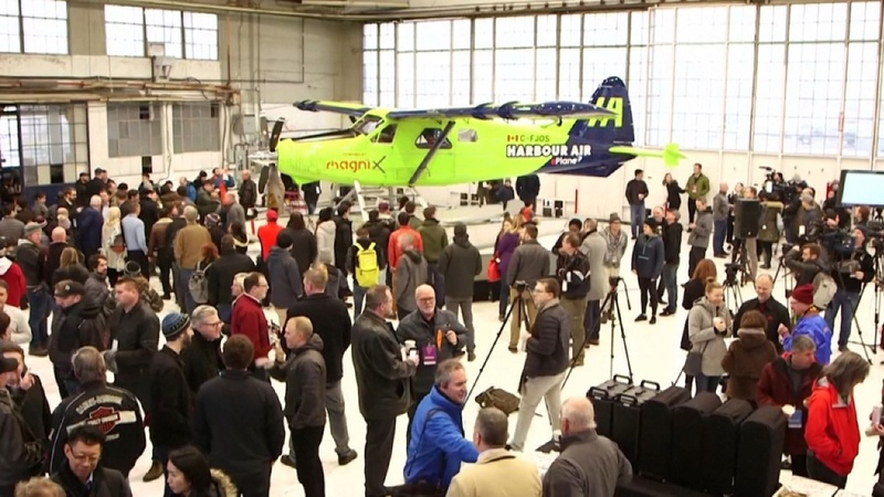 First all-electric commercial plane takes flight