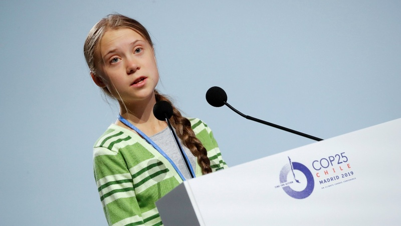 "Thunberg denounces ""creative PR"" in climate fight"
