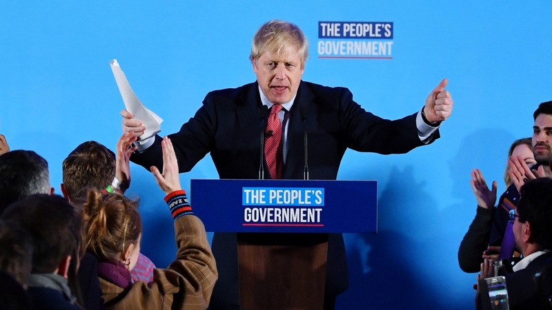 UK's Johnson scores massive win in Brexit election