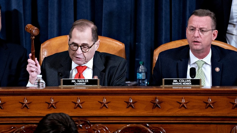 House panel approves Trump impeachment charges