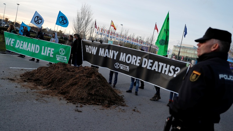 Activists criticize ongoing Madrid climate summit