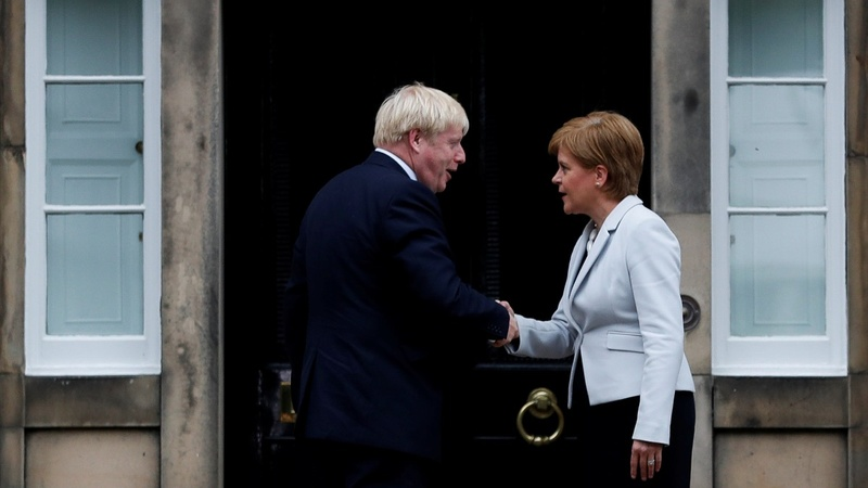 British parties divided over Scottish independence