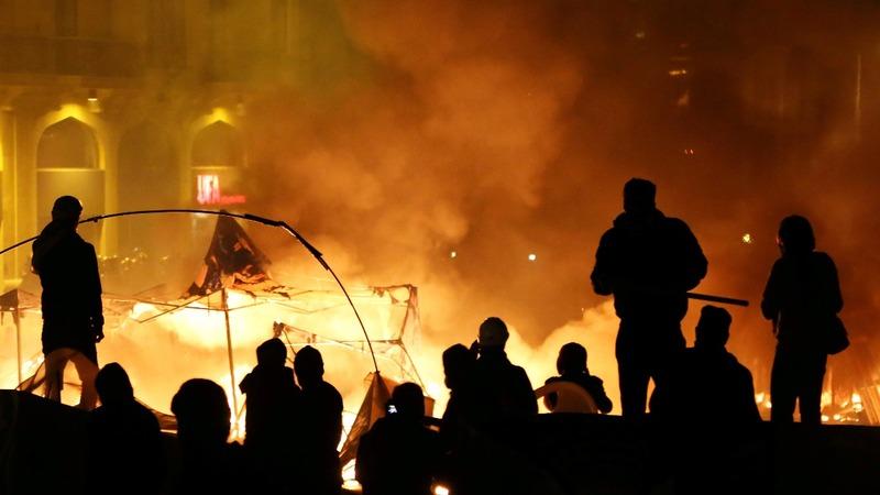 Dozens injured in Beirut protests