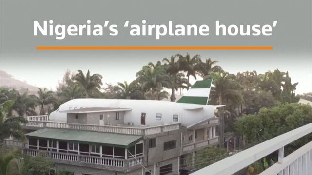 Wanderlust inspires Abuja's airplane-shaped home