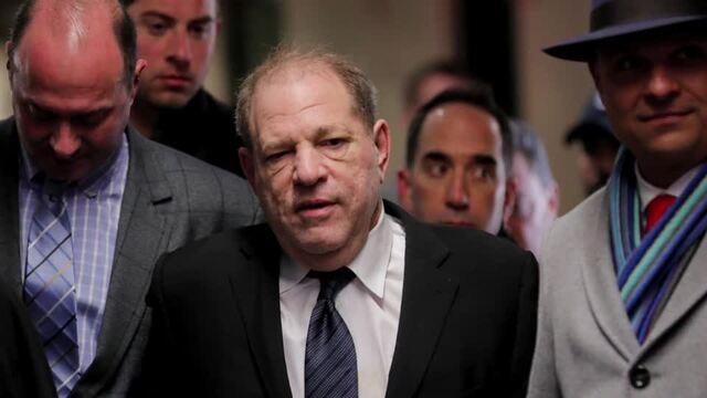 Prosecutor paints Weinstein as 'a rapist'