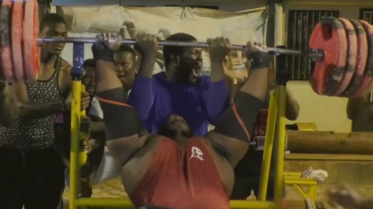 Africa's strongest man eats eight chickens a day   Reuters Video