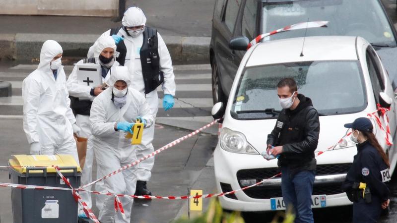 Stabbing attack near former Charlie Hebdo offices